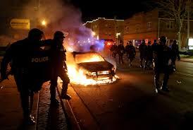 Riots erupt in Ferguson, MO