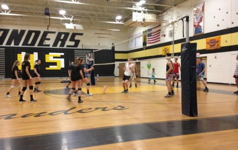 Excitment spikes for annual  volleyball tournament