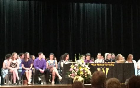 Students inducted into the World Language National Honor Society