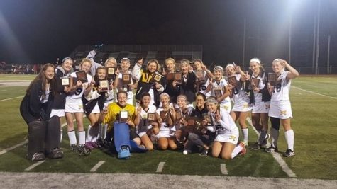 Congrats to the Field Hockey team on winning the Passaic County Tournament Crown!