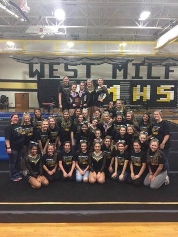 Gymnastics team clinches Passaic County Championship