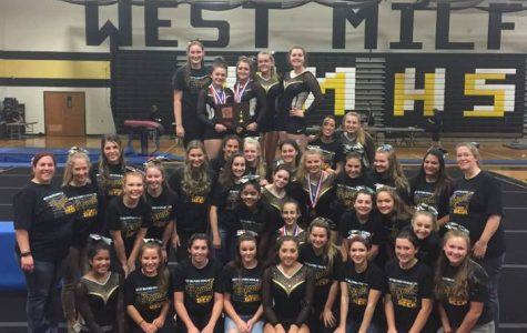 Gymnastics team clinches Passaic County Championship