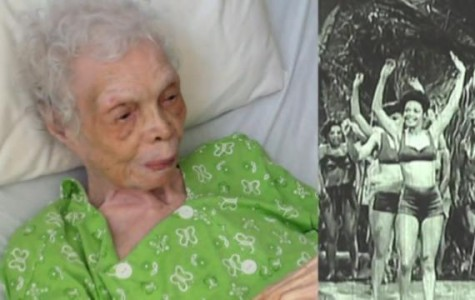 102-year-old woman sees herself dance for the first time