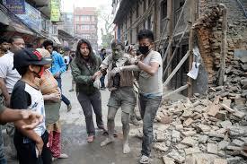 Earthquake in Nepal devastates area