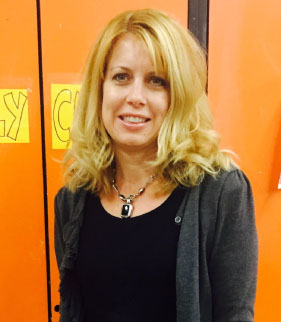 Mrs.Gallaugher named West Milford High School's Teacher of the Year! Congratulations, Mrs.Gallaugher