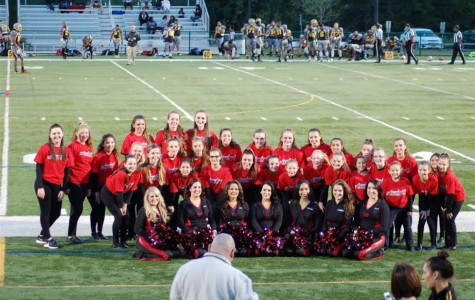 Dance Team performs at NJ Bears game