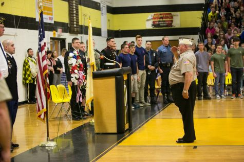 NHS induction celebrates academic success in dedicated juniors