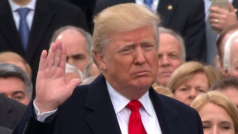 Trump+inaugurated+as+45th+President
