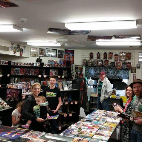 Monkey around at the comic book store