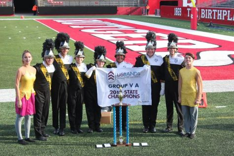 Marching Band wins States!