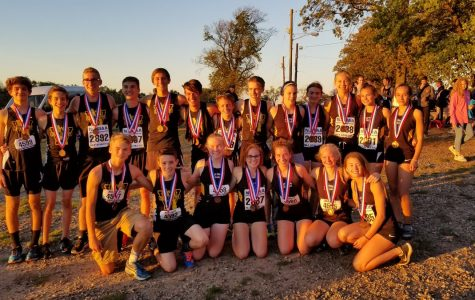 XC runs away with third at counties