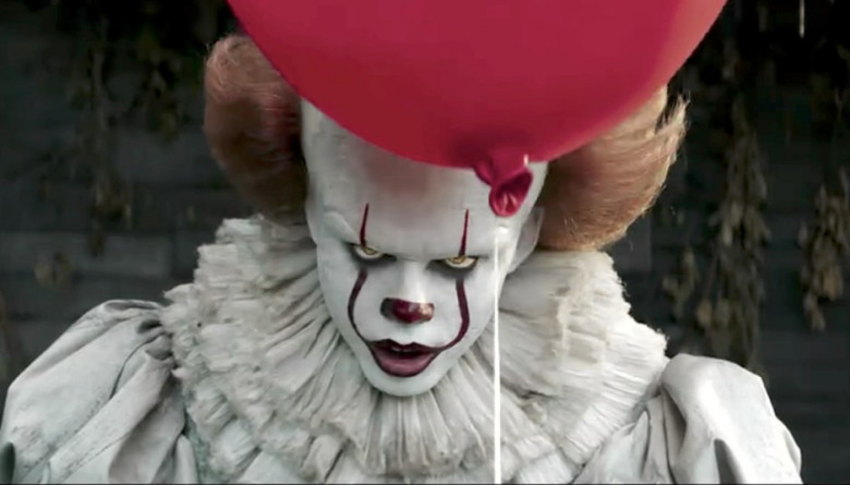 Above: Bill Skarsgard as Pennywise the Clown. Photo Courtesy: www.indiewire.com