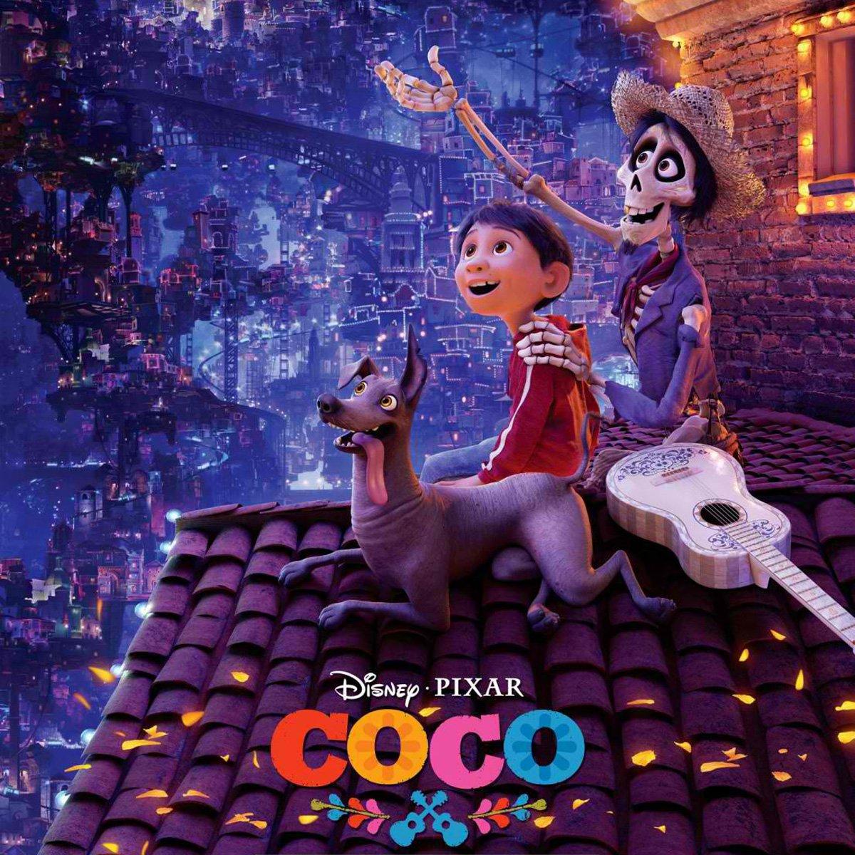 Coco movie poster.