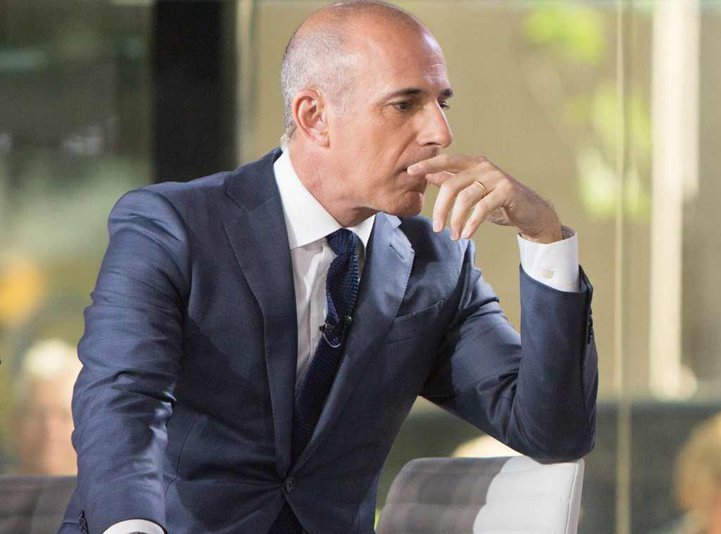Matt Lauer recently fired from NBC for sexual misconduct