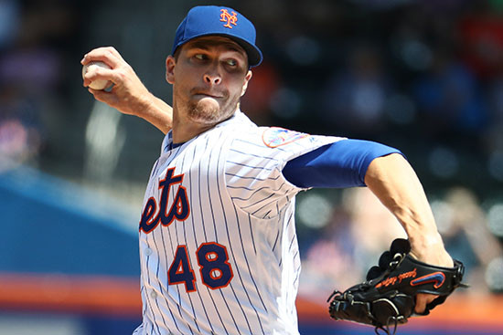 Jacob Degrom throws a pitch for the Mets. Photo Credit: ESPN.com