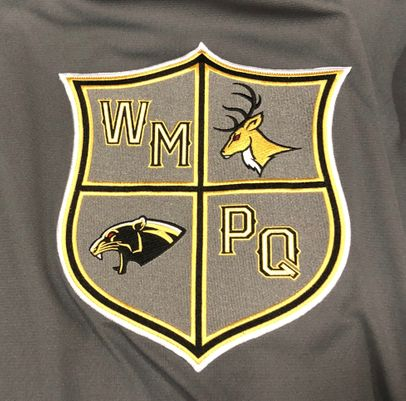 The newly combined West Milford Pequannock ice hockey logo