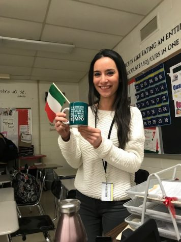 Ciao, bella! Italian class welcomes a visitor