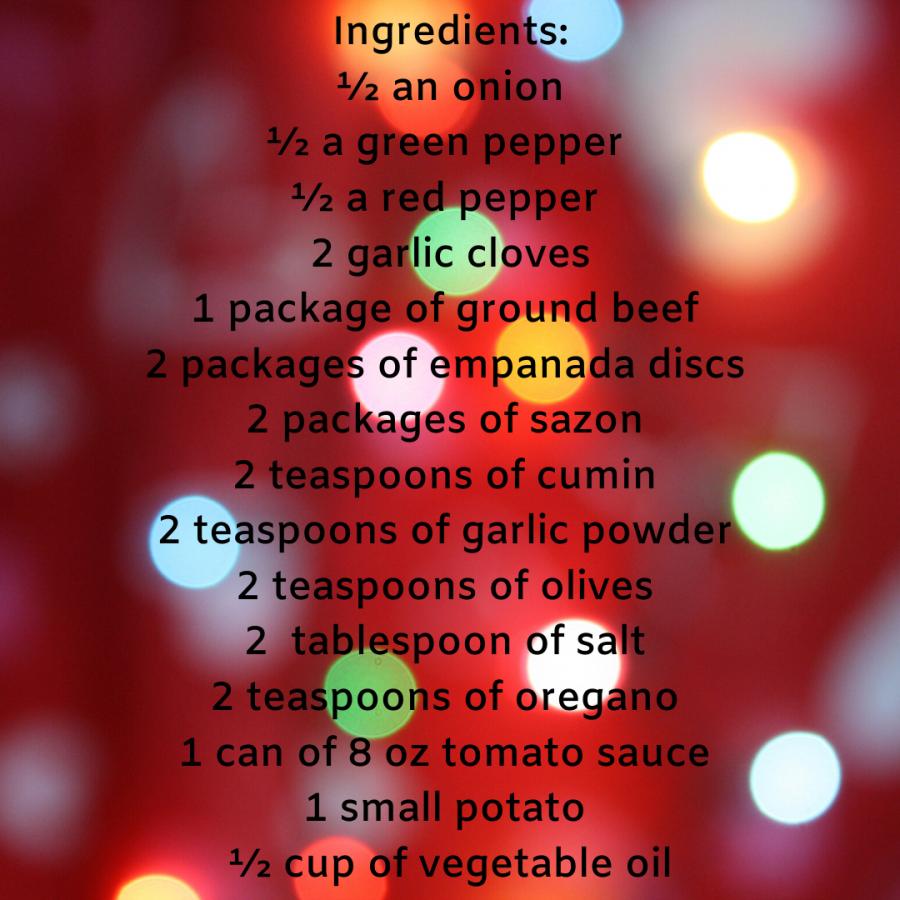 Christmas empanadas delight