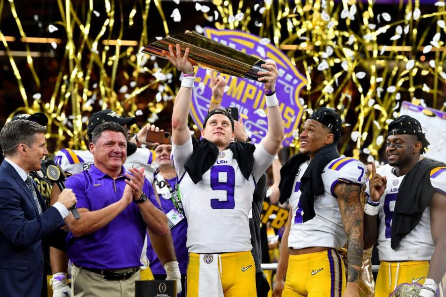 LSU dominates rest of College Football Playoff