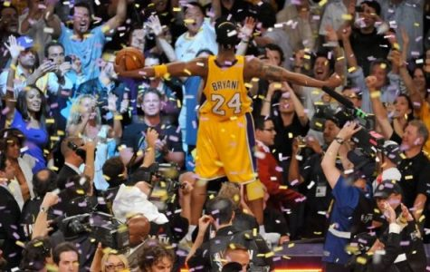 Above; Kobe celebrates his 5th title. Photo Courtesy: https://www.eurohoops.net/