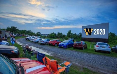 This is the Warwick Drive-in, which is officially where the class of 2020 will be graduating.